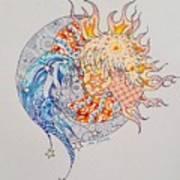 Lunasol Art Print