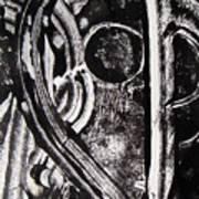 Lune Noire Art Print