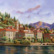 lungolago di Bellagio Art Print