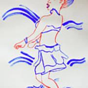 Luo Dance Acholi Tribe Uganda Art Print