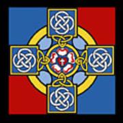 Lutheran Cross Art Print