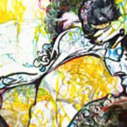 Lux Recliner Art Print
