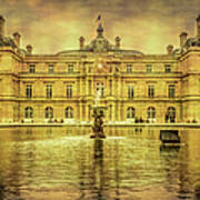 Luxembourg Palace Paris Art Print