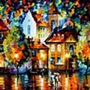 Luxemburg Night  Art Print