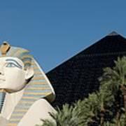 Luxor Hotel Las Vegas Art Print