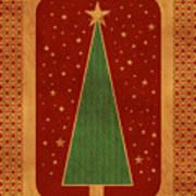 Luxurious Christmas Card Art Print