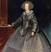Luycks, Frans Amberes, 1604 - Viena, 1668 Maria Of Austria, Queen Of Hungary Ca. 1635 Art Print