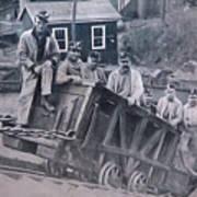Lykens Valley Miners Art Print