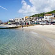 Lyme Regis Beaches - June 2015 Art Print