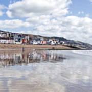 Lyme Regis Seafront Art Print