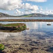 Lyme Regis Seascape 3 - October Art Print