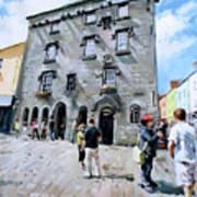 Lynches Castle Galway City Art Print