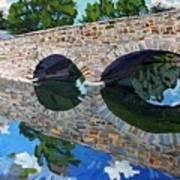 Lyndhurst Bridge Art Print