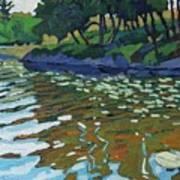 Lyndhurst Lake Art Print