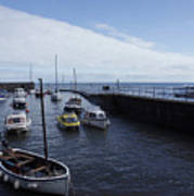 Lynmouth Harbour Art Print