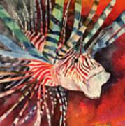 Lyon Fish Study Art Print