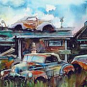 Lytton Station Art Print