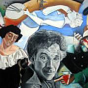 M Chagall Art Print