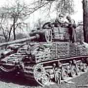 M4 Sherman Art Print