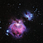 M42--the Great Nebula In Orion Art Print
