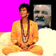 Ma Jaya Sati Bhagavati 15 Art Print by Eikoni Images