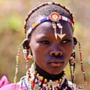 Maasai Beauty Art Print