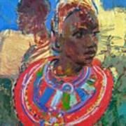 Maasai Daydream Art Print