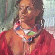 Maasai Pride Art Print