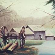 Mabreys Mill Art Print
