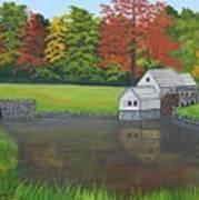 Mabry Grist Mill  Art Print