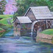 Mabry Mill Art Print