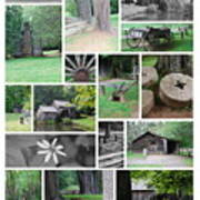 Mabry Mill Art Print