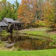 Mabry Mill In Fall 1 Art Print