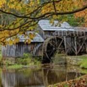 Mabry Mill In Fall 3 Art Print