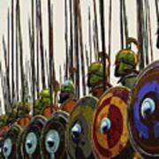 Macedonian Phalanx Art Print