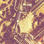 Machine Guns Art Print