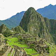 Machu Picchu - Iconic View Art Print