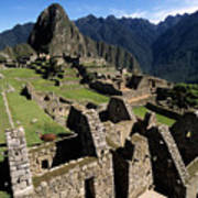 Machu Picchu Residential Sector Art Print