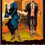 Mack Sennett Comedy - An International Sneak 1917 Art Print