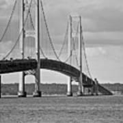 Mackinac Bridge 6111 Art Print
