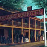 Macomb's Dam Hotel Art Print