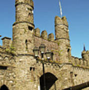 Macroom Castle County Cork Ireland Art Print
