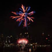 Macy's Fireworks II Art Print