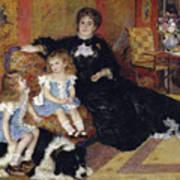 Madame Georges Charpentier Art Print