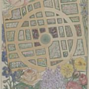 Madame Jumel's Garden Art Print