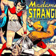 Madame Strange Comic Super Hero Art Print