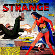 Madame Strange Female Comic Super Hero Art Print