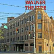 Madame Walker Theater, Indianapolis Art Print