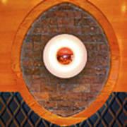 Art Deco Cafe Wall Light Art Print