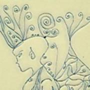Madelyne  2 Art Print